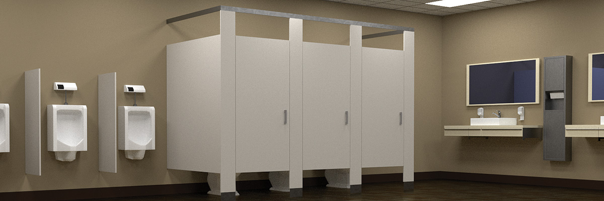 Commercial Bathroom Cleaning by Cleaner Living
