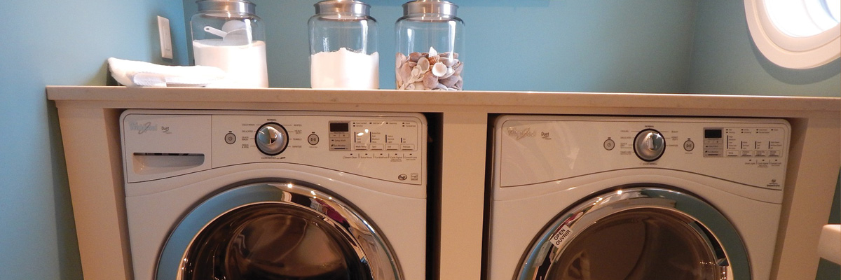 Residential Laundry Room Cleaning by Cleaner Living